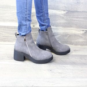 🔥🔥🔥 Grey Ankle Boots